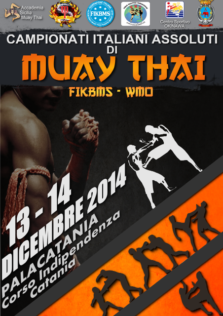 Campionati Italiani Muay Thai  2014 FIKBMS