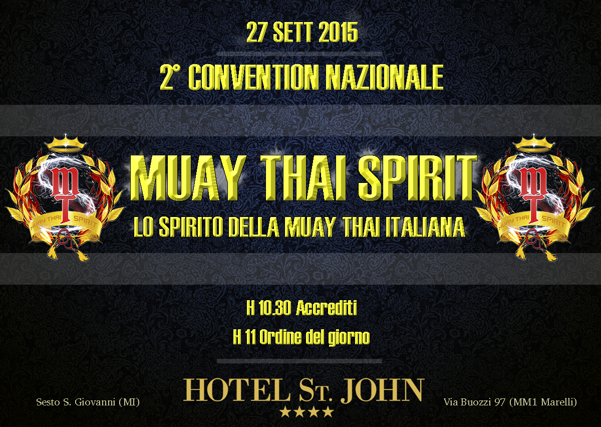 CONVENTION MUAY THAI SPIRIT