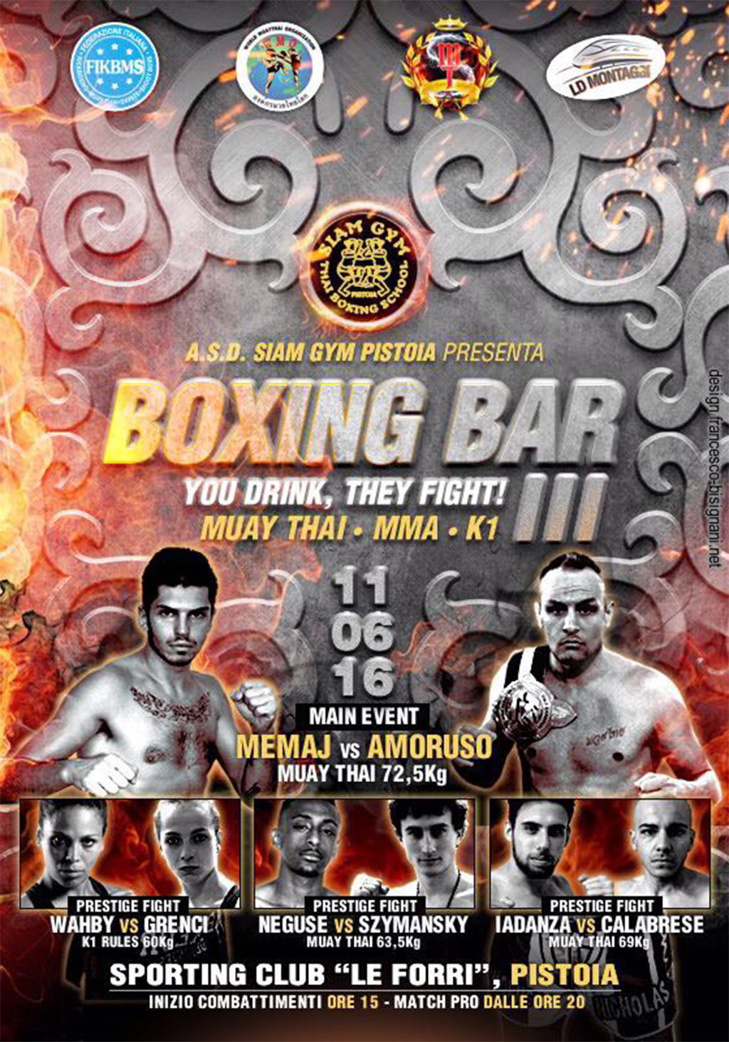 PISTOIA BOXING BAR
