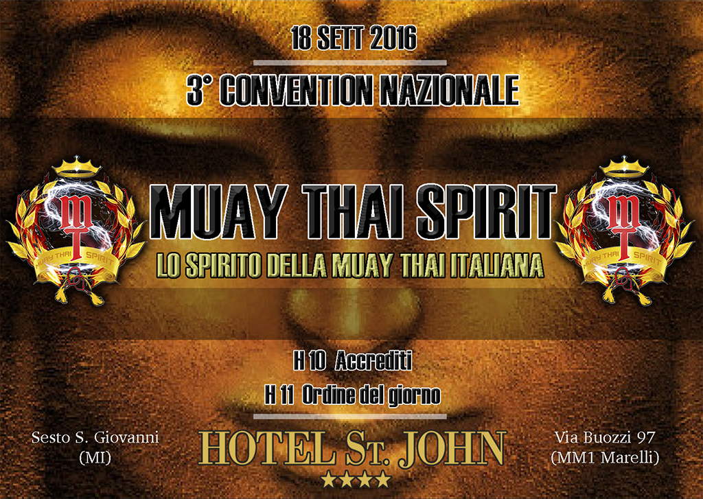 3° CONVENTION MTS 2016