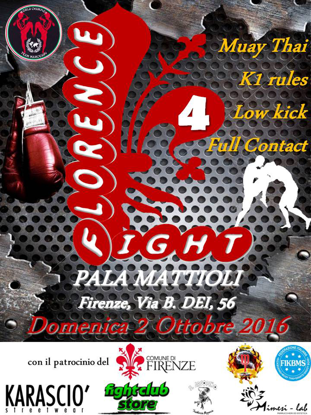 FLORENCE FIGHT 4