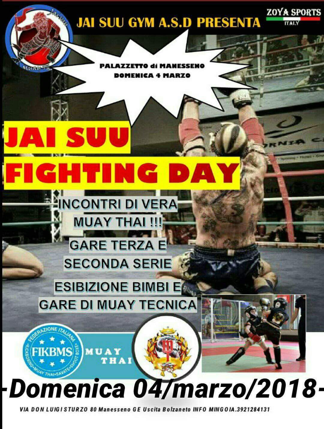 JAY SUU FIGHTING DAY
