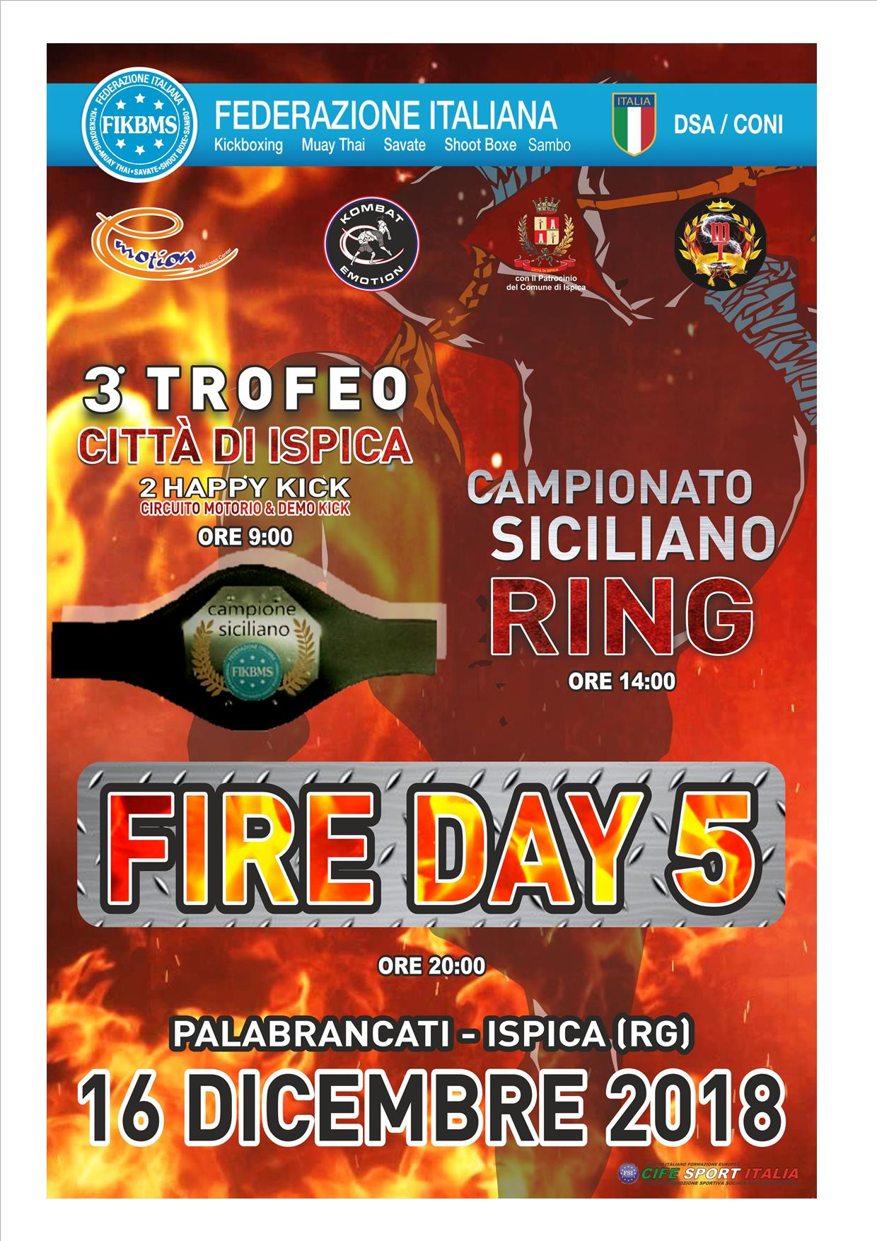 fire day ISPICA